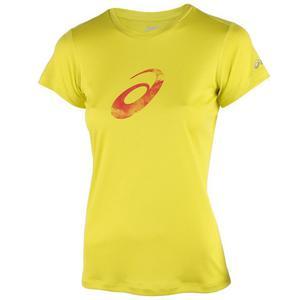 koszulka do biegania damska ASICS GRAPHIC SHORTSLEEVE TOP / 110423-0497 - koszulka do biegania damska ASICS GRAPHIC SHORTSLEEVE TOP - 2825521556