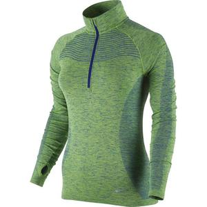 bluza do biegania damska NIKE DRI-FIT KNIT 1/2 ZIP / 719469-455 - bluza do biegania damska NIKE DRI-FIT KNIT 1/2 ZIP - 2825522567