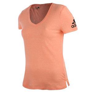 koszulka sportowa damska ADIDAS V TEE / AJ6412 - koszulka sportowa damska ADIDAS V TEE - 2825522571