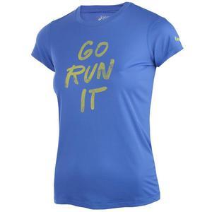 koszulka do biegania damska ASICS GRAPHIC SHORT SLEEVE TOP / 132111-8091 - koszulka do biegania damska ASICS GRAPHIC SHORT SLEEVE TOP - 2825522644