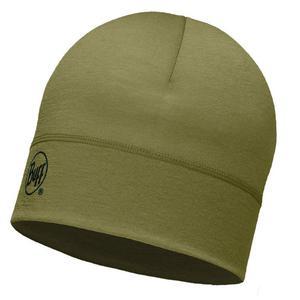 czapka do biegania BUFF MERINO WOOL 1 LAYER HAT BUFF SOLID LIGHT / 113013.850.10 - 2852620115