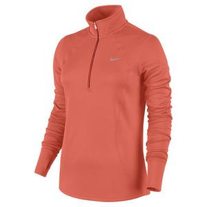bluza do biegania damska NIKE RACER LONG SLEEVE 1/2 ZIP TOP / 648358-842 - NIKE RACER LONG SLEEVE 1/2 ZIP TOP - 2852620137