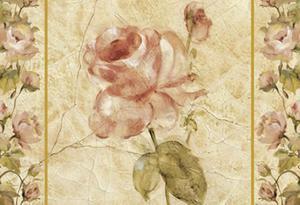 PODKŁADKI - PODSTAWKI KORKOWE PIMPERNEL - DUŻE - Róża Retro - 2873787021