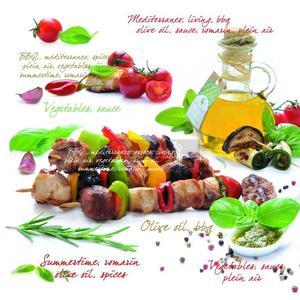 SERWETKI PAPIEROWE - Barbeque - BBQ - Easy Life - 2586456669