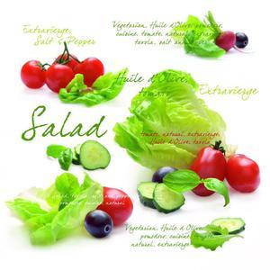 SERWETKI PAPIEROWE - Salad (SLD) - 2586457430