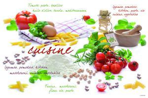 DUŻA PODKŁADKA NA STÓŁ - Cuisine (550 CUIS) - 2586457639