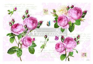 DUŻA PODKŁADKA POLIPROPYLENOWA NA STÓŁ - Romantic Roses - Róże (550 RMR) - 2586457687