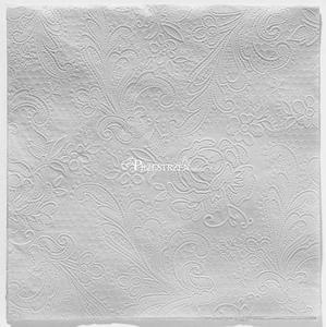 SERWETKI PAPIEROWE - Szara Koronka - Gris Glace (wytłaczane) - 2873169987
