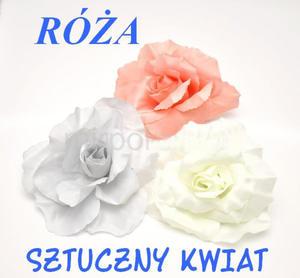 SZTUCZNY KWIAT-PĄCZEK RÓŻY - 2824978261
