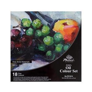Farby olejne Phoenix - 18 kolorów - 2823191806