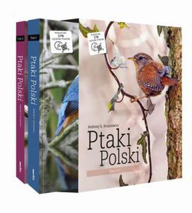 Ptaki Polski Tom I i II w etui (komplet) - Andrzej G. Kruszewicz - 2856440992