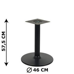 Podstawa stolika NY-B006, czarna, wysoko - 2825223906