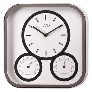 Zegar ścienny JVD H1525.2 Termometr Higrometr - 2847547600