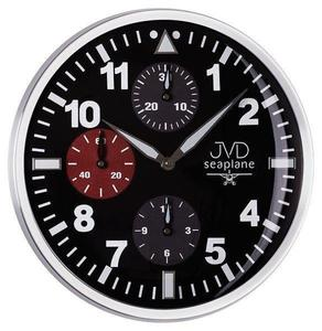 Zegar ścienny JVD HA15.1 33 cm METAL SWEEP - 2845131152