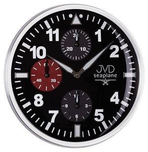 Zegar ścienny JVD HA15.1 33 cm Metalowy, cichy mechanizm - 2845131152