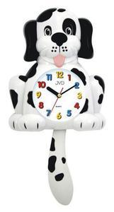 Zegar ścienny JVD HF61.2 Piesek Kolorowy Dziecięcy - 2847547649