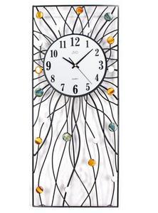Zegar ścienny JVD HJ42 z kryształkami 29 x 72 cm - 2847547660