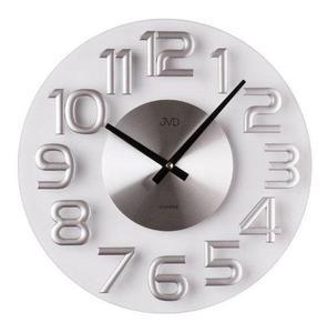 Zegar ścienny JVD HT098 Szklany - 2847547732