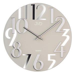 Zegar ścienny JVD HT101.1 SZKLANY - 2847547733