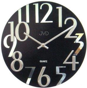 Zegar ścienny JVD HT101.2 SZKLANY - 2847547734