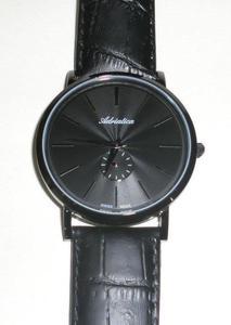 Zegarek Adriatica A1113.B214Q Classic Black Slim - 2847546661