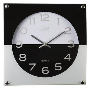Zegar ścienny JVD N28114.2 Szklany - 2847547778