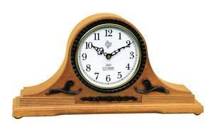 Zegar kominkowy JVD NSR11.4 DREWNIANY WESTMINSTER DCF77 - 2847547790