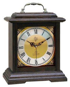 Zegar kominkowy JVD NSR15.2 Drewniany - 2847547791