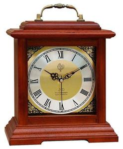 Zegar kominkowy JVD NSR15.3 DREWNIANY WESTMINSTER DCF77 - 2847547792
