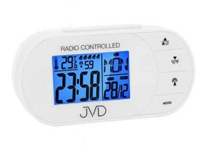 Budzik JVD RB13 Pięć alarmów, termometr, DCF77 - 2847547794