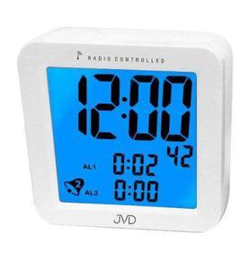 Budzik JVD RB26 Dwa alarmy, DCF77 - 2847547795