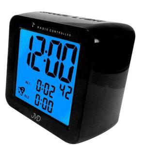 Budzik JVD RB26.1 Dwa alarmy, DCF77 - 2847547796