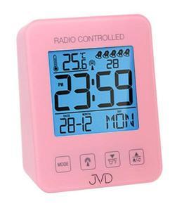 Budzik JVD RB38.2 Termometr, 5 alarmów, DCF77 - 2847547803