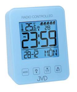 Budzik JVD RB38.3 Termometr, 5 alarmów, DCF77 - 2847547804