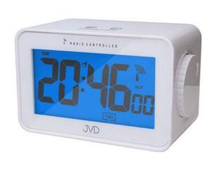 Budzik JVD RB53 Termometr Higrometr DCF77 - 2847547807