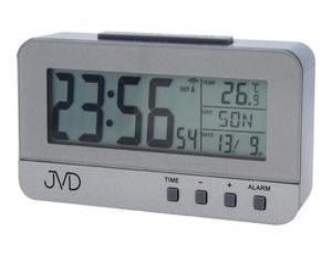 Budzik JVD RB91 Termometr DCF77 Dni Tygodnia PL - 2847547818
