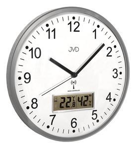 Zegar ścienny JVD RH78.1 Termometr Higrometr DCF77 - 2847547832