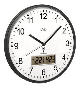 Zegar ścienny JVD RH78.2 Termometr Higrometr DCF77 - 2847547833