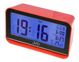 Budzik JVD SB130.1 Termometr, Sensor Light, 3 alarmy - 2847547846