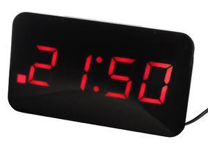 Budzik JVD SB24.1 Dwa alarmy, funkcja ładowarki - 2847547865