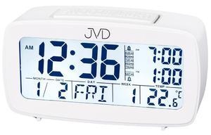 Budzik JVD SB82.1 Alarmy Termometr Sensor Light - 2832895680