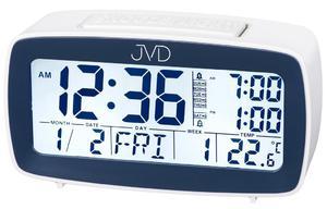 Budzik JVD SB82.2 Alarmy Termometr Sensor Light - 2847547869