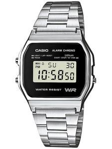 Zegarek Casio A158WEA-1EF Retro - 2847546759
