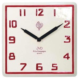Zegar ścienny JVD TS2618.3 25x25 cm CERAMICZNY CAMPAGNE - 2847547988