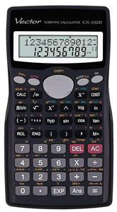 Kalkulator Vector CS-102II - 400 funkcji - 2847547996