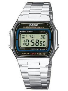 Zegarek CASIO A164WA-1VES RETRO - 2847546762