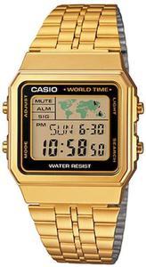 Zegarek CASIO A500WEGA-1EF RETRO - 2847546768