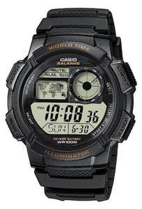 Zegarek CASIO AE-1000W-1AVEF WR100 LED - 2847546773