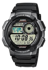 Zegarek CASIO AE-1000W-1BVEF WR100 LED - 2847546774