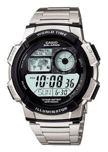 Zegarek CASIO AE-1000WD-1AVEF WR100 LED - 2847546779